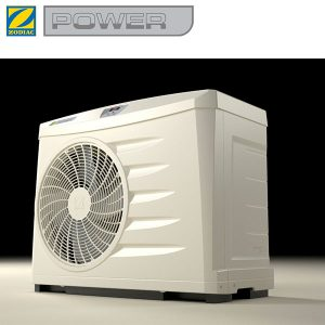 4 Zodiac POWER 5 Heat Pump with logo