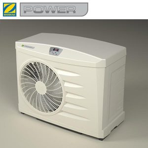 6 Zodiac POWER 9 Heat Pump with logo