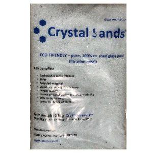Crystal Sands 15kg Glass Pool Filtration Media 1