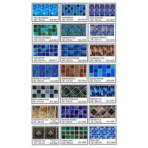 Fiberglass Mosaic Flexi Range 1