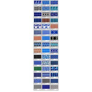 Fiberglass Mosaic Flexi Range