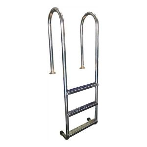 a  0001 Stainless Steel Roll Top Ladder
