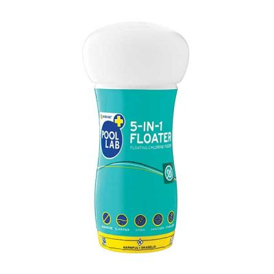 chemicals 0001 1 Zodiac Pool Lab 5 in 1 Chlorine Floater